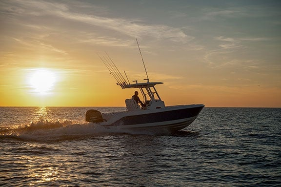 EdgeWater Boats Partners with Lumitec for all 2019 Models