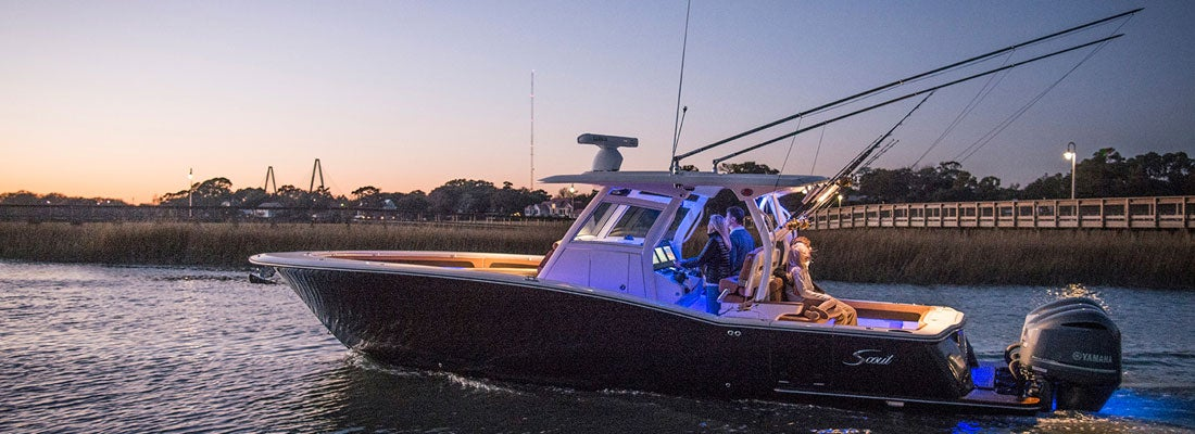 Scout Boats Teams with Lumitec for 2019