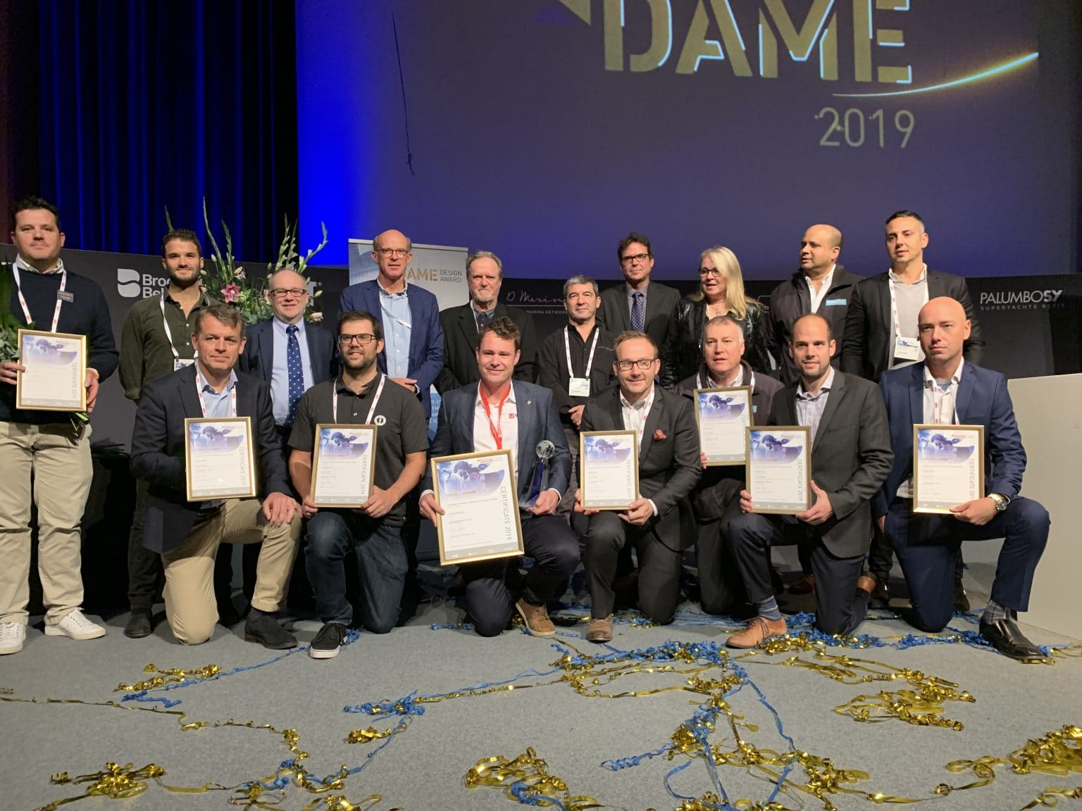 Lumitec Wins DAME Design Award