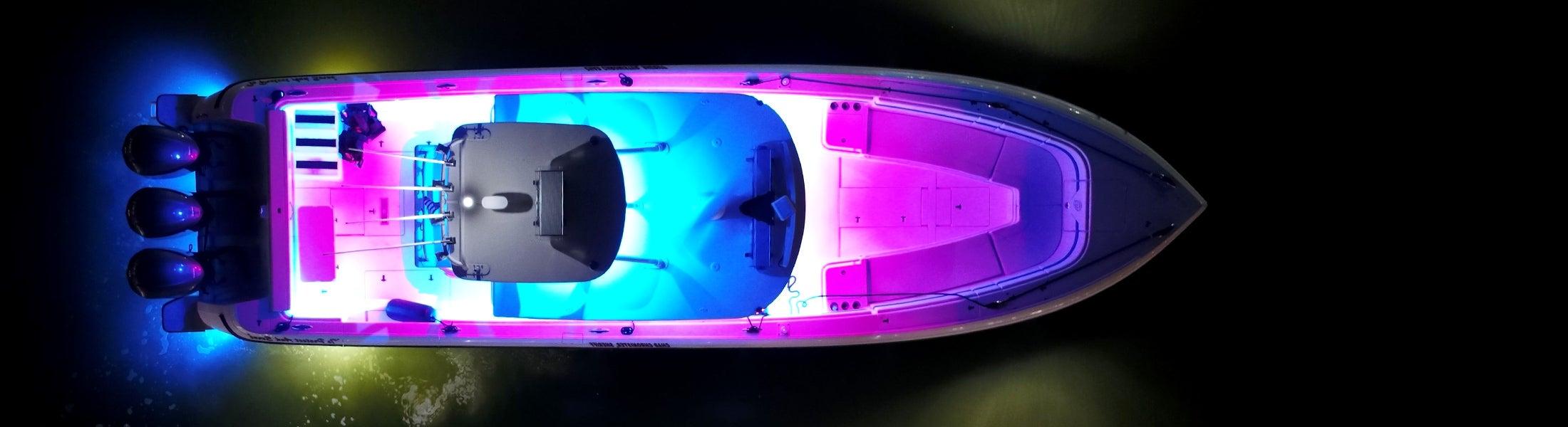 Rethinking marine strip lighting.